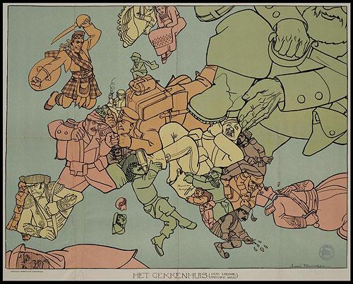 satire political cartoons. maps political cartoon