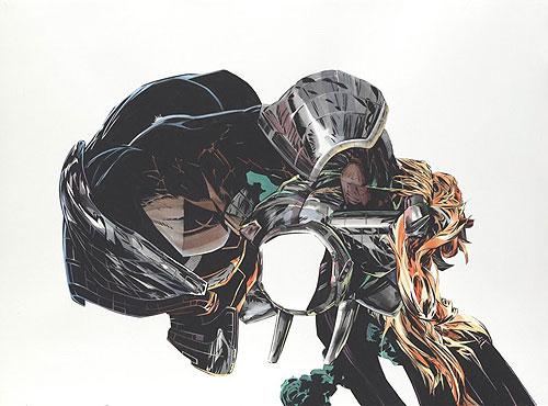 aaron noble art comic abstract booooooom