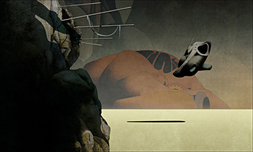 dan mcpharlin sci fi art illustration illustrator design blog boooom