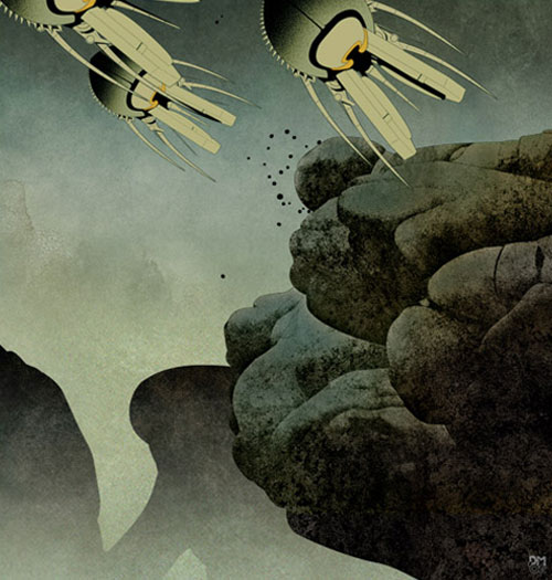 dan mcpharlin sci fi art illustration illustrator design blog boooom