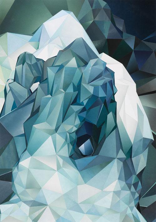 are mokkelbost paper collage art artist artwork