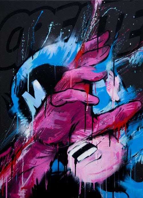 meggs australia streetart graffiti stussy artshow