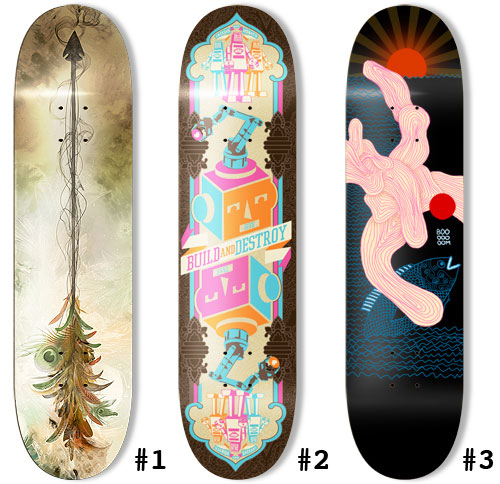 booooooom blog skateboard design contest project 4