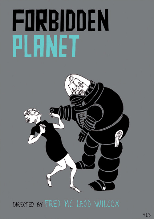 yann lebec film poster classic illustration drawing booooooom blog