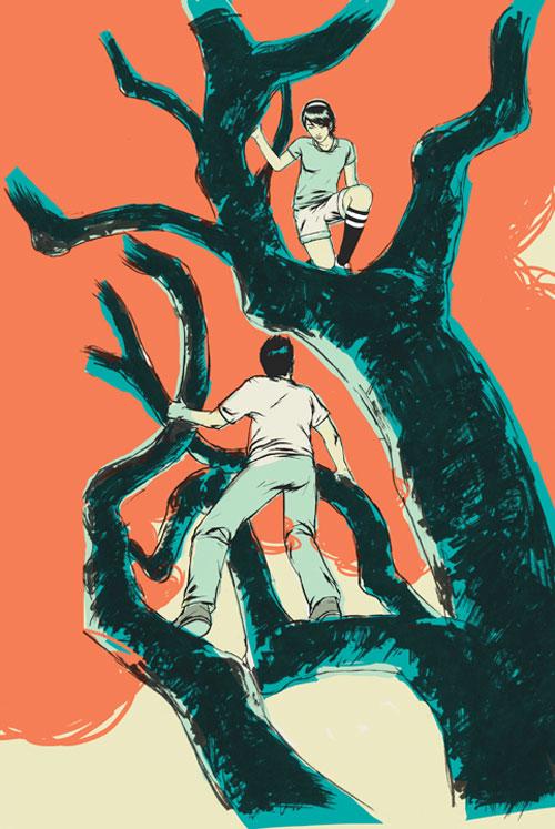 patrick leger illustration illustrator art drawing booooooom blog