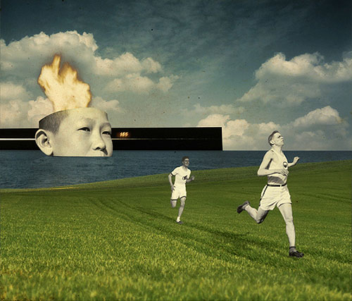 joseba elorza miraruido sound designer collage graphic design boom
