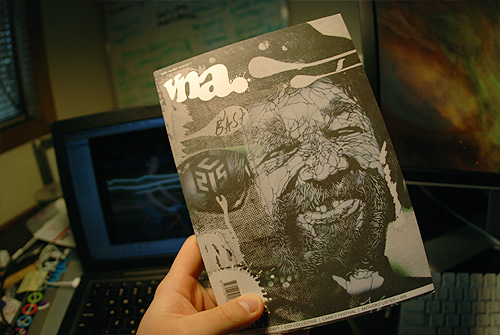 vna magazine very nearly almost graffiti art design