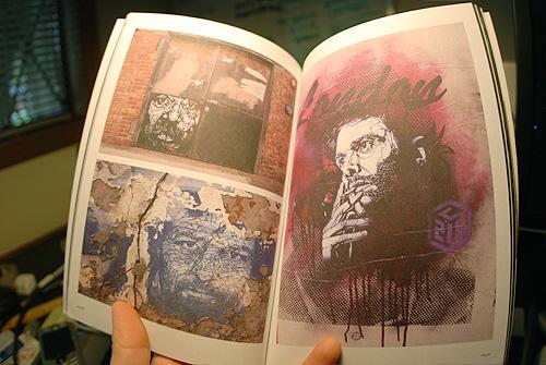 vna magazine very nearly almost graffiti art design