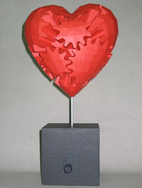 haruki nakamura booooooom papercraft paper art