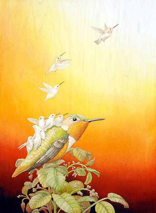 booooooom tiffany bozic artist painter painting