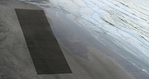 booooooom jim denevan sand art drawing illustration pattern beach