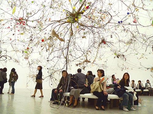 Gerda Steiner Jorg Lenzlinger brainforest art artist installation