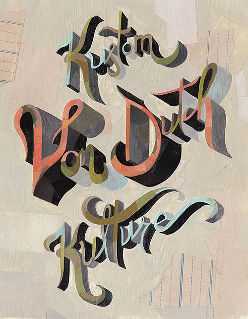 darren booth illustration illustrator hand lettering