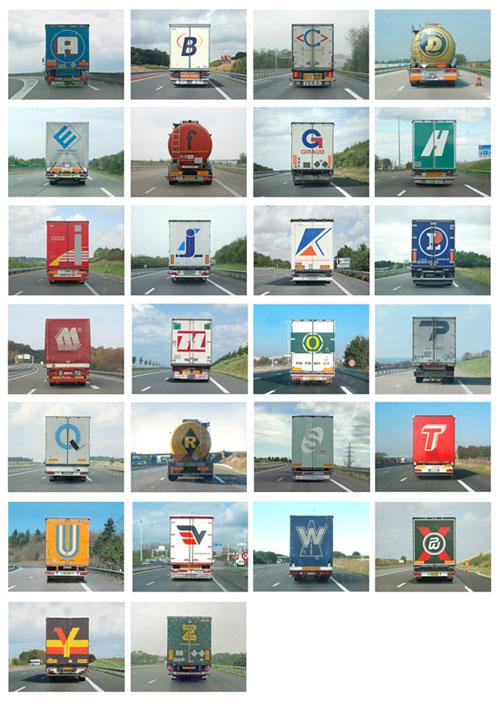eric tabuchi photographer photography alphabet truck