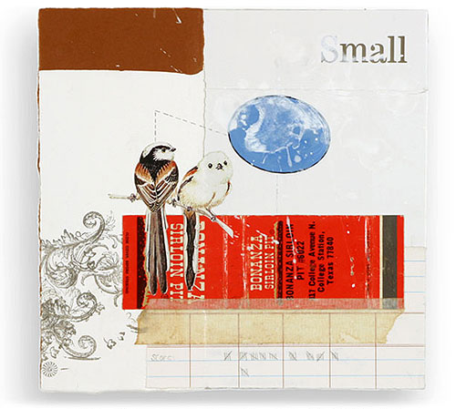 mary emma hawthorne collage paper illustration