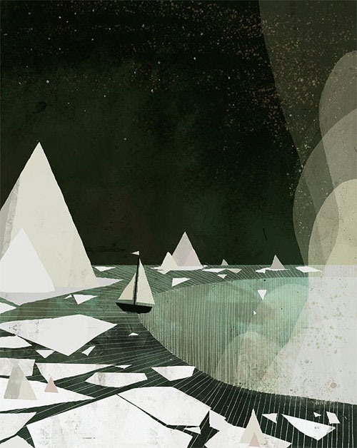 jon klassen burst of beaden illustrator illustration