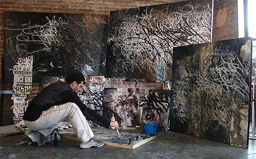 jose parla painter painting graffiti street art artist