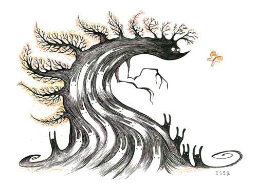 kazu kibuishi art illustration illustrator
