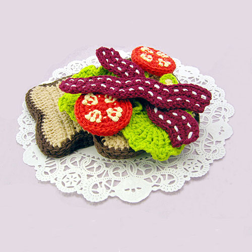 needle noodles knit sushi jellyfish