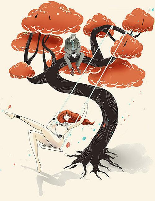 pietari posti illustrator illustration