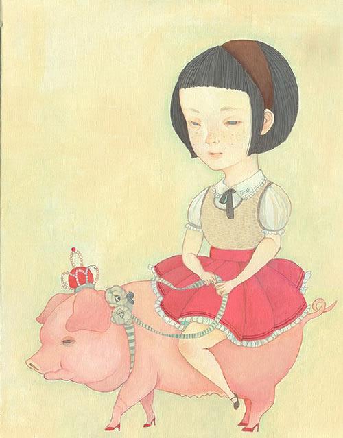 shimoda hikari painter painting