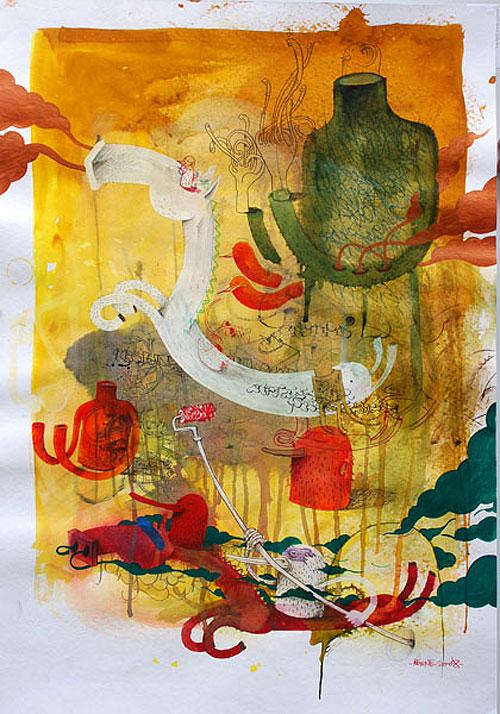 alexone painting painter art