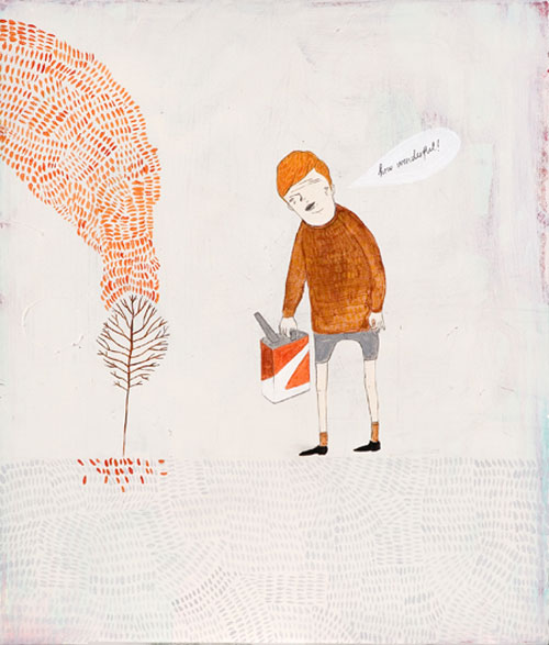 andrew gordon illustrator illustration artist painter drawing