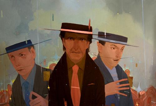beastie boys art painting illustration photo
