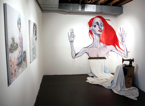 ben tour artist illustrator illustration painter painting