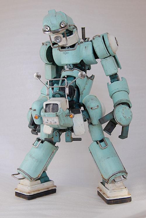 robot model kit chubu 01