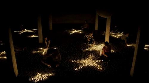 electrabel famous tv spot candles