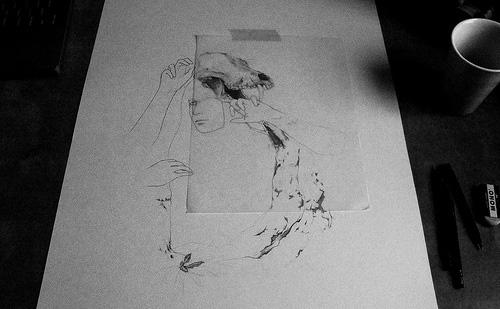 fumi mini nakamura miniature mouse illustration drawing illustrator