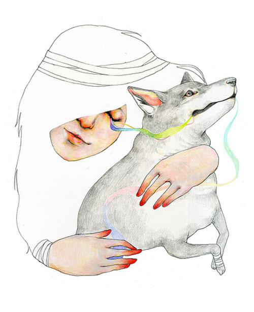 fumi mini nakamura miniature mouse illustration drawing illustrator