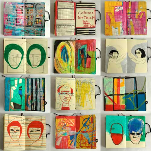 guilherme dietrich art artist sketchbook