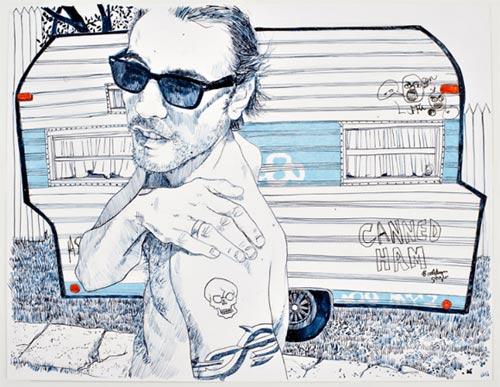 hope gangloff art artist illustrator drawing illustration