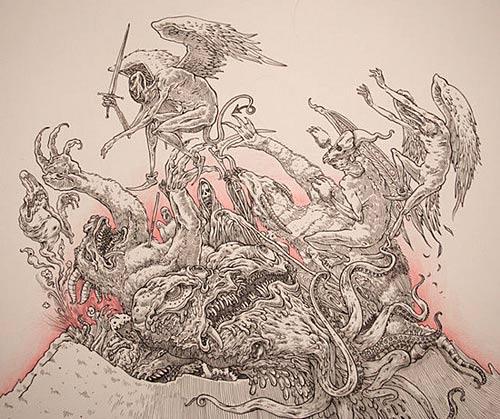 jesse balmer illustration illustrator art drawing