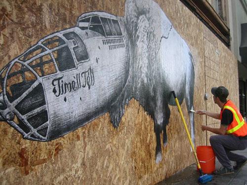 jesse hazelip street art artist