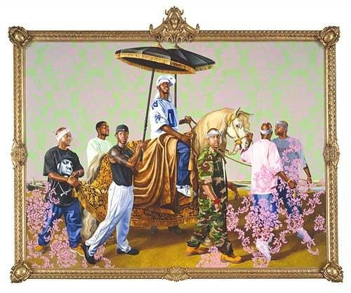 kehinde wiley painter painting urban Renaissance