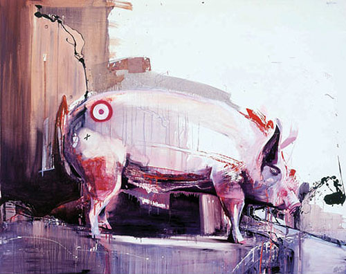 marcus jansen painting painter oil collage