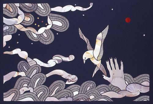 mayuko fujino paper cut art artist