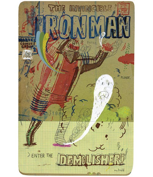 Comic Book Cover Tutorial Illustrator : Mark todd booooooom create inspire community
