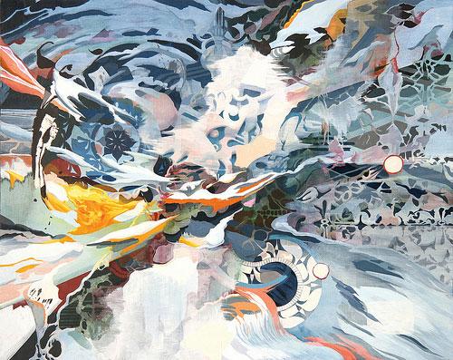 oliver vernon painting painter art artist