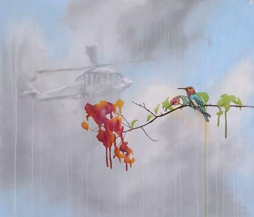 sage vaughn painter painting art