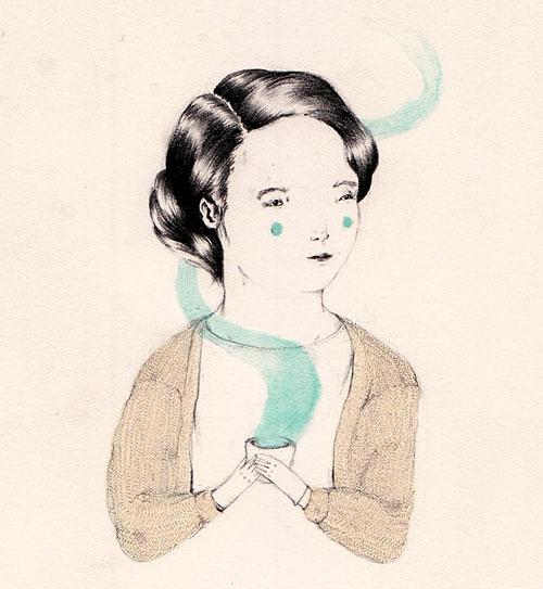 sarah mcneil art illustration drawing