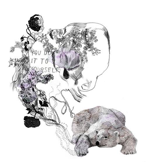 beata boucht illustrator illustration editorial artist fashion