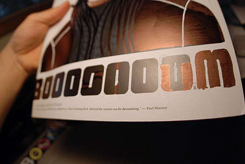 booooooom project 7 alter a magazine cover