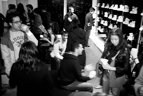 converse product red livestock vancouver jeff hamada event charity