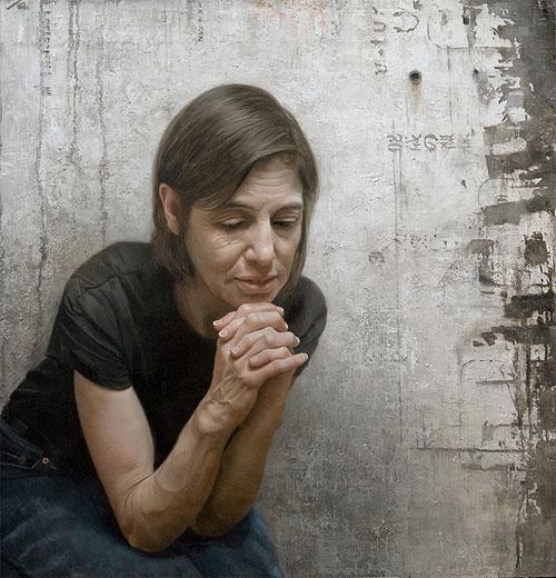 david kassan painting painter artist portrait