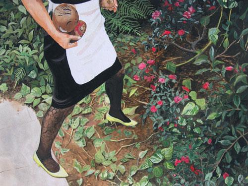 delphine courtillot painter painting paris france emily carr