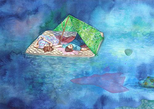 erika somogyi painter watercolor painting